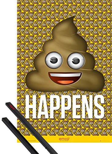 Emoji Poo Posters Kids Rooms