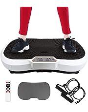 Sotech Fitness Plateformes Vibrantes et Oscillantes, avec Télécommande, Bandes de resistances et Tapis de Yoga, 180 Niveaux, 69 x 39 x 13 cm
