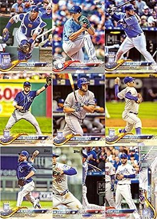 Amazoncom 2018 Topps Series 1 Kansas City Royals Baseball