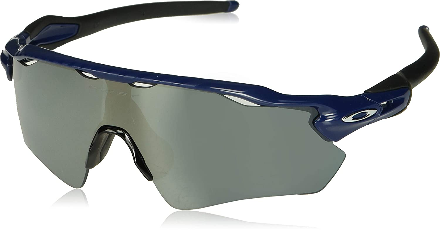 Amazon.com: Oakley Men's Radar Ev Path Non-Polarized Iridium Rectangular  Sunglasses, Navy, 0 mm: Clothing