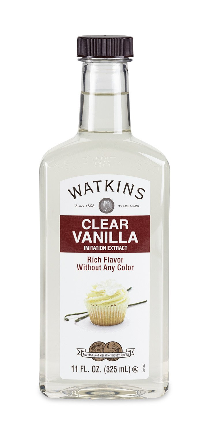 Watkins Clear Vanilla Flavor Extract, 11 Ounce (Packaging may vary)