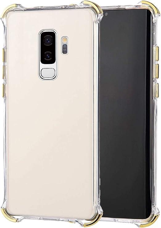 Surakey - Carcasa rígida para Samsung Galaxy S9 Plus, transparente ...