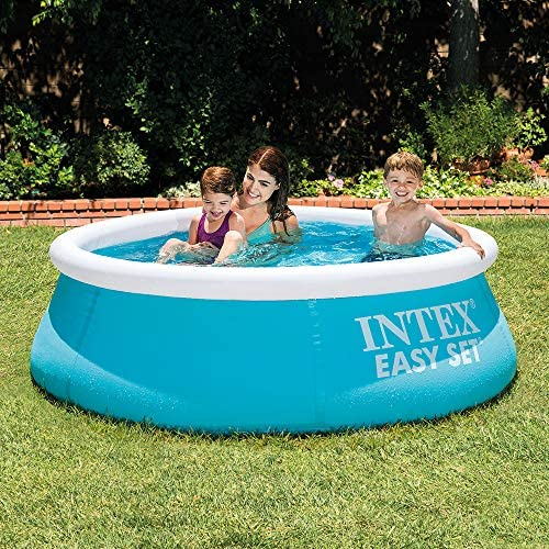 Intex 28101NP Easy Set - Piscina hinchable, 183 x 51 cm, 880 litros: Amazon.es: Jardín