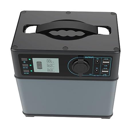Hochleistungsakku Generator 400Wh Tragbare Energiespeicher mit Lithium-Ionen Zellen Solar Generator(Super Leichtgewicht, nur