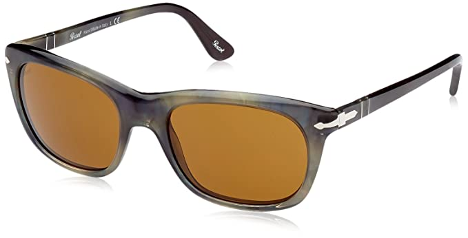 Amazon.com: anteojos de sol Persol 3101S color caqui plaza ...