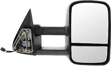 99-02 Chevy Silverado GMC Sierra Truck For Power Mirrors Pair W//O Heat Textured