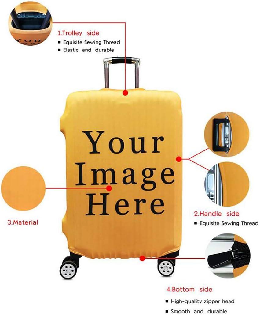 Unbekannt /Élastique imprim/é Animal Housse de Valise Coffre Valise Valise Coque Housse de Valise Luggage Cover /Étui avec Fermeture /éclair