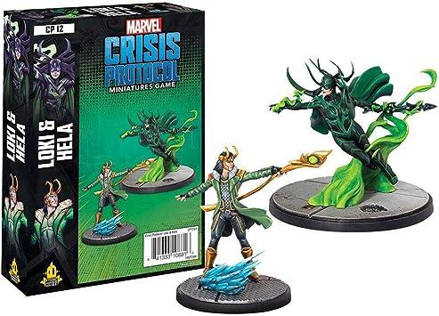Amode Marvel Crisis Protocol: Loki and Hela Character Pack: Amazon ...