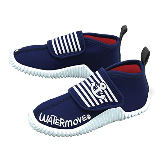 【WATERMOVE/ウォータームーブ】マリンシューズWCS-3611023cmNAVY108128の画像