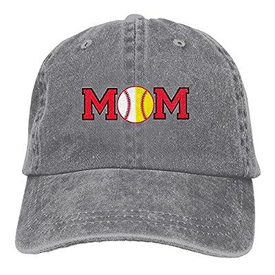 Itry Baseball Softball Mom Snapback Cotton Hat