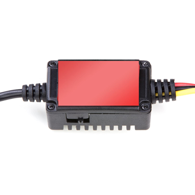 Hardwire Kit Mini USB Autokamera Ladekabel mit Netzteil 5V//2A 12//24V Dashcam Batteriew/ächter Bordnetzkabel Car DVR