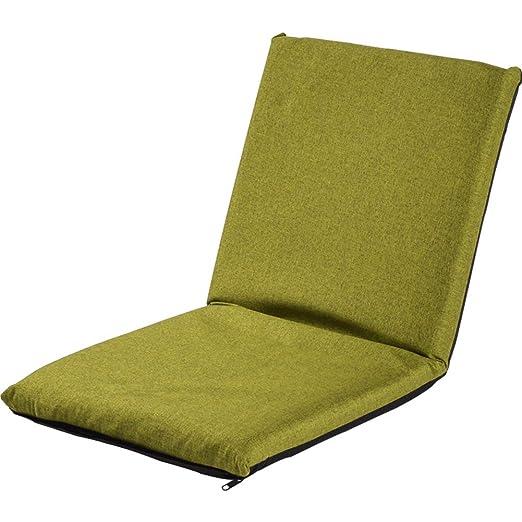 QIAO Sofá Perezoso, sofá Individual Plegable de Tatami ...