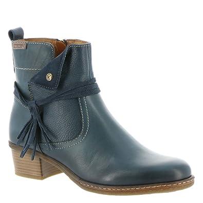 Amazon.com   Pikolinos Zaragoza Tassel Women's Boot 40 M EU Ocean   Boots