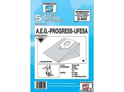 Tecnhogar - Caja 5 Bol. Asp.Ufesa At-4205/06: Amazon.es ...