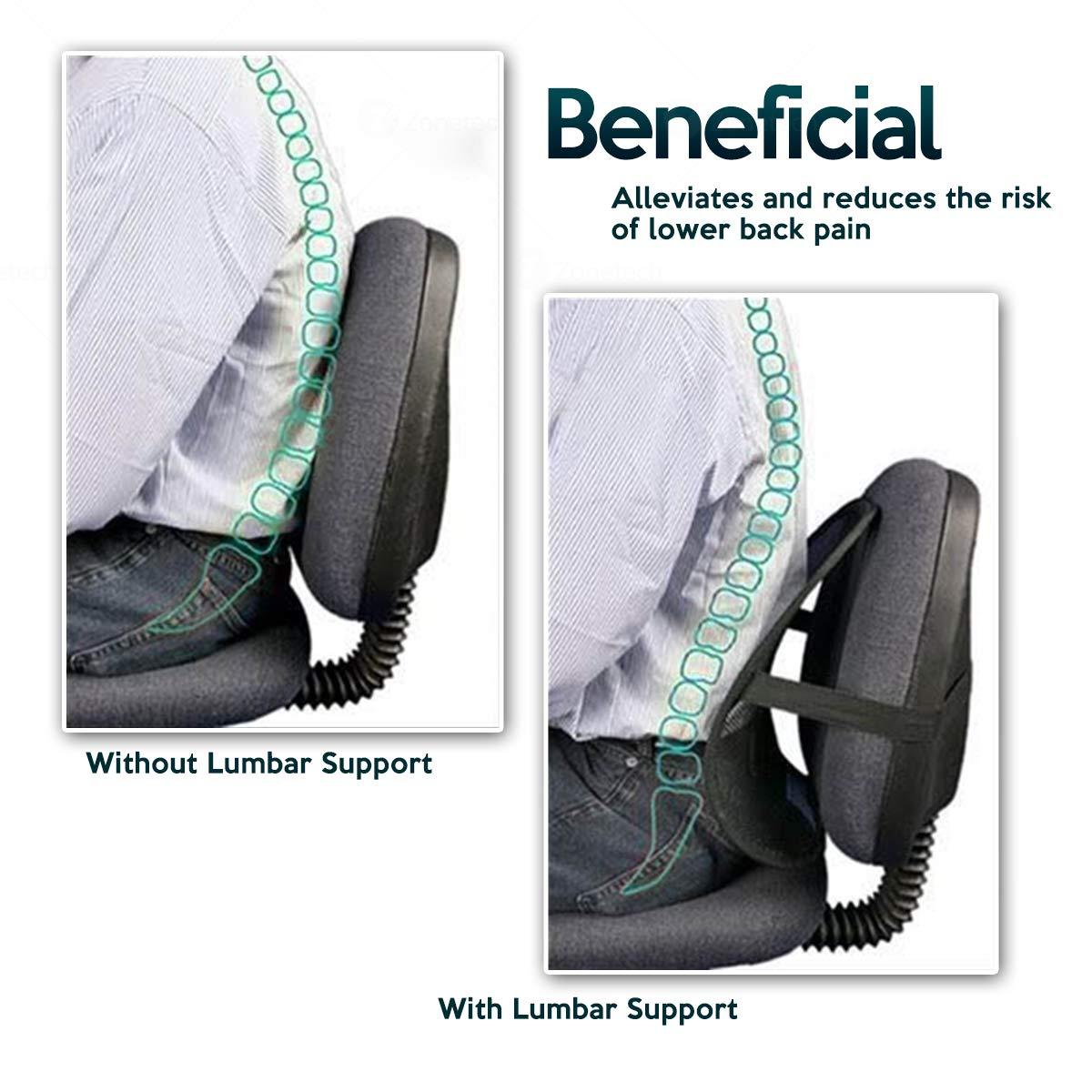 Amazon.com: Zone Tech – Conjunto de 4 PosturePro Mesh silla ...