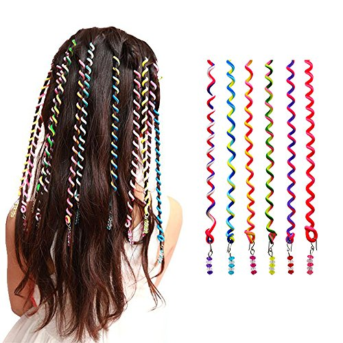 Pack of 6 Women Girl Hair Styling Twister Clips