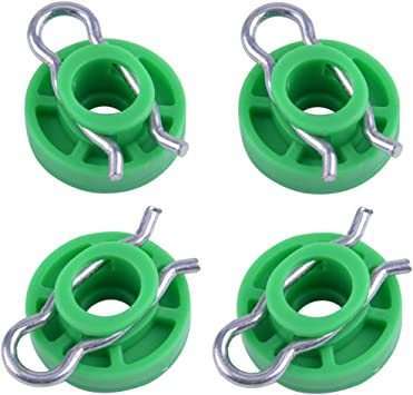 4pcs Window Regulator Guide Roller Slider Clip For Volvo 850 V70 S70 4493433