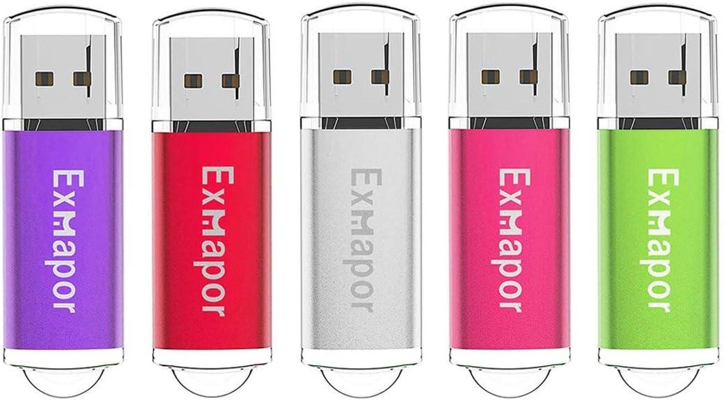 Paper Clip LOT 5 8GB USB 2.0 Pen Drive Flash Drive Pen Drive Memory Stick