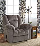 Nimmons Contemporary Fabric Taupe Color Zero Wall Recliner For Sale