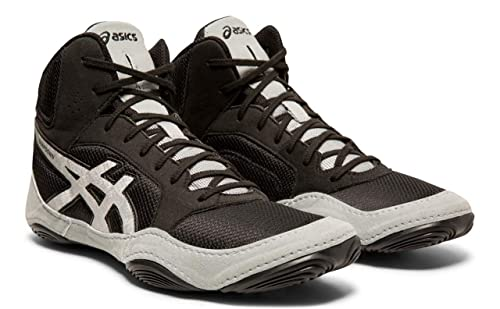 beautiful and charming big discount fine quality ASICS Men's Snapdown 2 Wrestling Shoes, Black/Silver, 6.5 M US