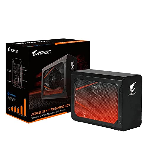 Gigabyte AORUS Gaming Box GTX 1070 Graphic Card GV-N1070IXEB-8GD eGPU