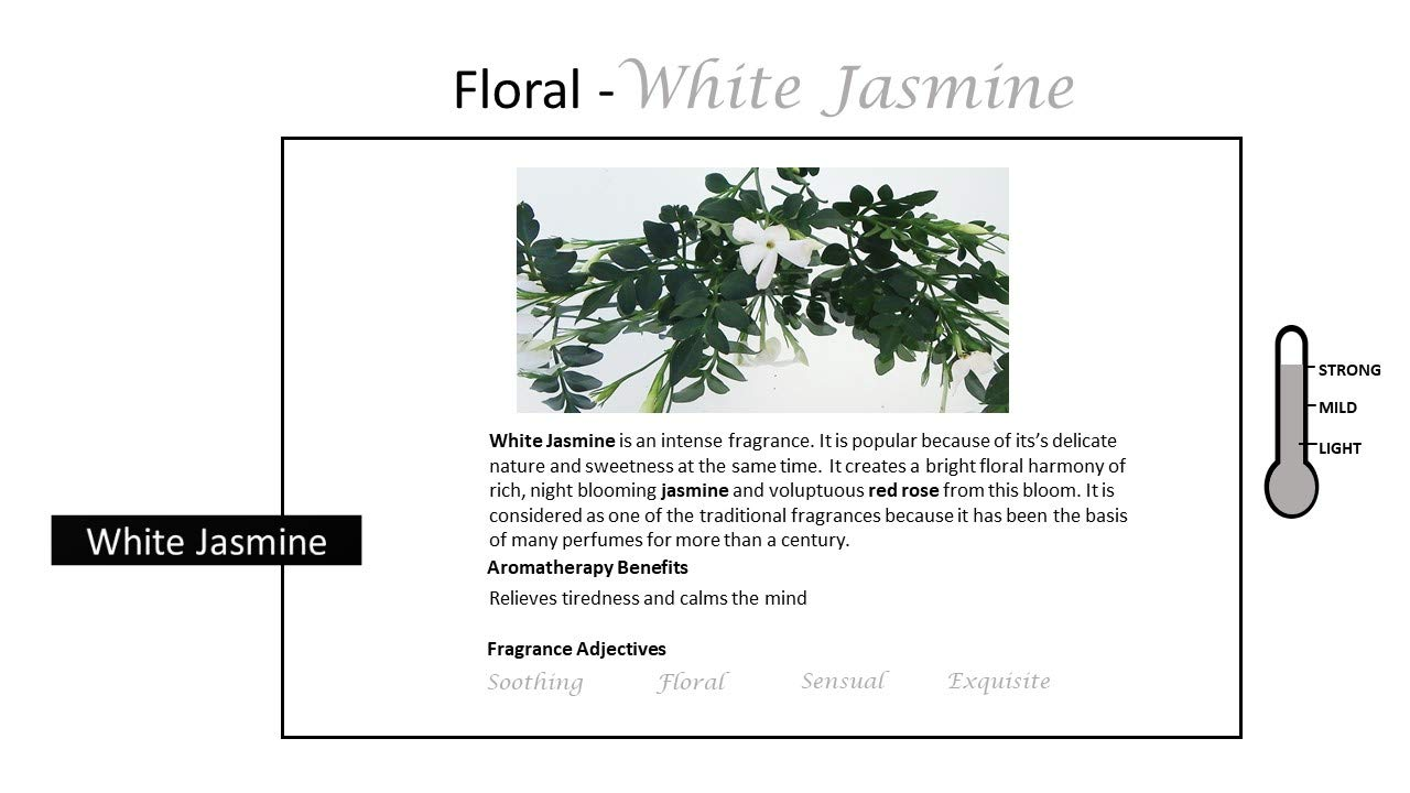 Rosemoore White Jasmine Scented Tea Lights For Living Room, Washroom, Bedroom, Office by Rose and Moore (Image #4)