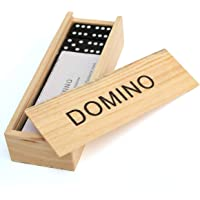 SN Toy Zone Wooden Dominoes Set (Small)-28 Pieces