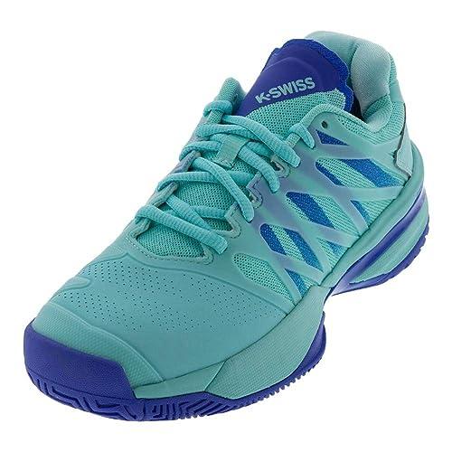 478d56c0fd2ea K-Swiss Women's Ultrashot, Aruba Blue/Dazzling Blue, Size 12