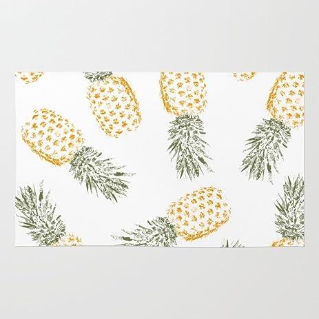 Amazon.com: Society6 Pineapple Rug 4