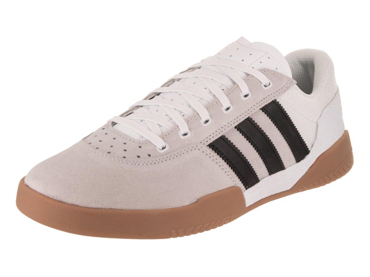 36f2ee3ec81986 Galleon - Adidas City Cup (White Core Black Gum) Men s Skate Shoes-13