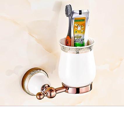Continental vasos Vaso para cepillos de dientes soporte Mono/taza de baño/ cepillo de
