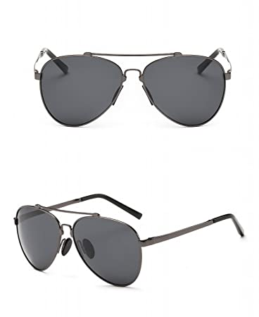 Unregelmäßige Achteckige Sonnenbrille Perle Nase Maske Farbe Linse Sonnenbrille Silber Eis Blau 3E3HjX4