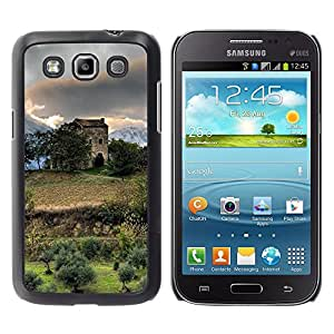 Paccase / SLIM PC / Aliminium Casa Carcasa Funda Case Cover - Nature Beautiful Forrest Green 138 - Samsung Galaxy Win I8550 I8552 Grand Quattro