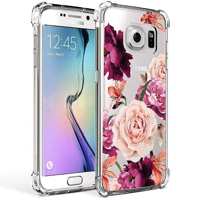 Amazon.com: Galaxy S7 Funda para las niñas mujeres ...