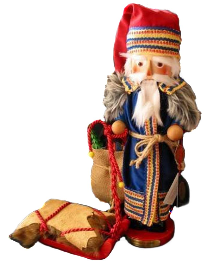 2004 Signed Herr Steinbach Scandinavian Santa Nutcracker, Retired, 11th Christmas Legends Series by Steinbach Family