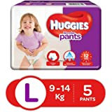 Huggies Wonder Pants Large Size Diapers (5 Count)