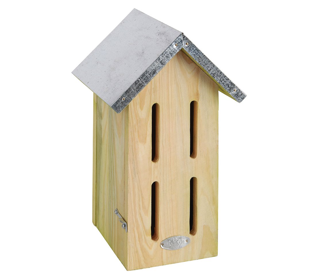 Dehner Butterfly Home - Approx. 32.5 x 19 x 14.5 cm - Pine Wood