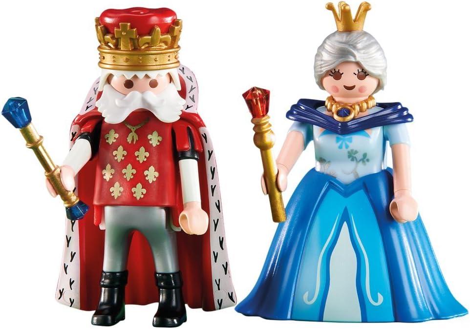 Playmobil 6378. Reina y Rey: Amazon.es: Juguetes y juegos