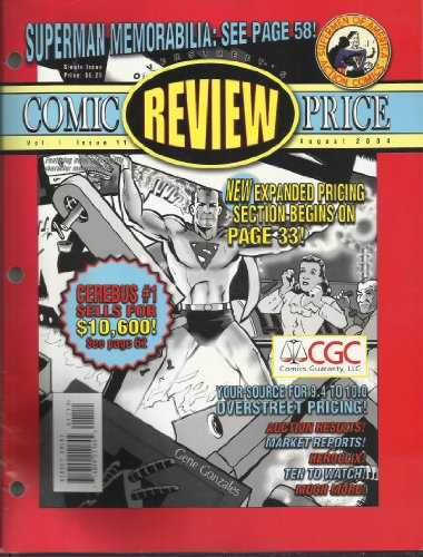 Overstreet's Comic Review Price Guide Vol 1 #11 August 2004 Superman memorabilia from Overstreet