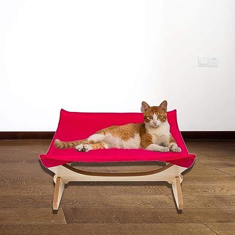 AMhomely - Esterilla cuadrada de cuatro puntas para gatos, hamaca ...