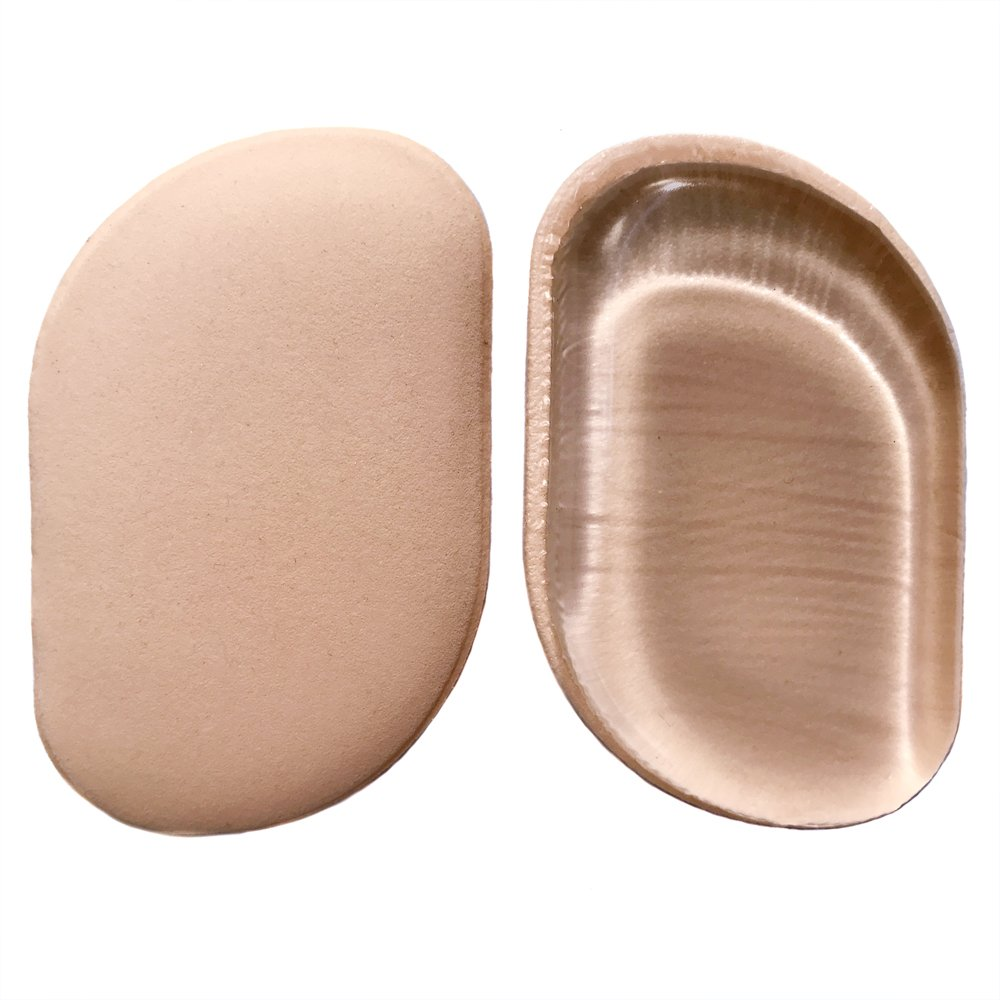 STOCKING STUFFERS Best 2-in-1 Professional Silicone Sponge & Beauty Makeup Blender, Uses Less Foundation, Nonporous & Hygienic Sponges, Flawless Blending for Blushes & Concealer, 2-Pack
