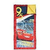 "Kids 28"" x 56"" 45-Degree Sleeping Bag (Disney's Cars 3)"