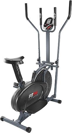 FITFIU Fitness BELI-120 - Bicicleta Elíptica con sillín regulable ...