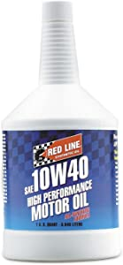 Red Line 11404 10W-40 Synthetic Motor Oil - 1 Quart (Pack of 2)