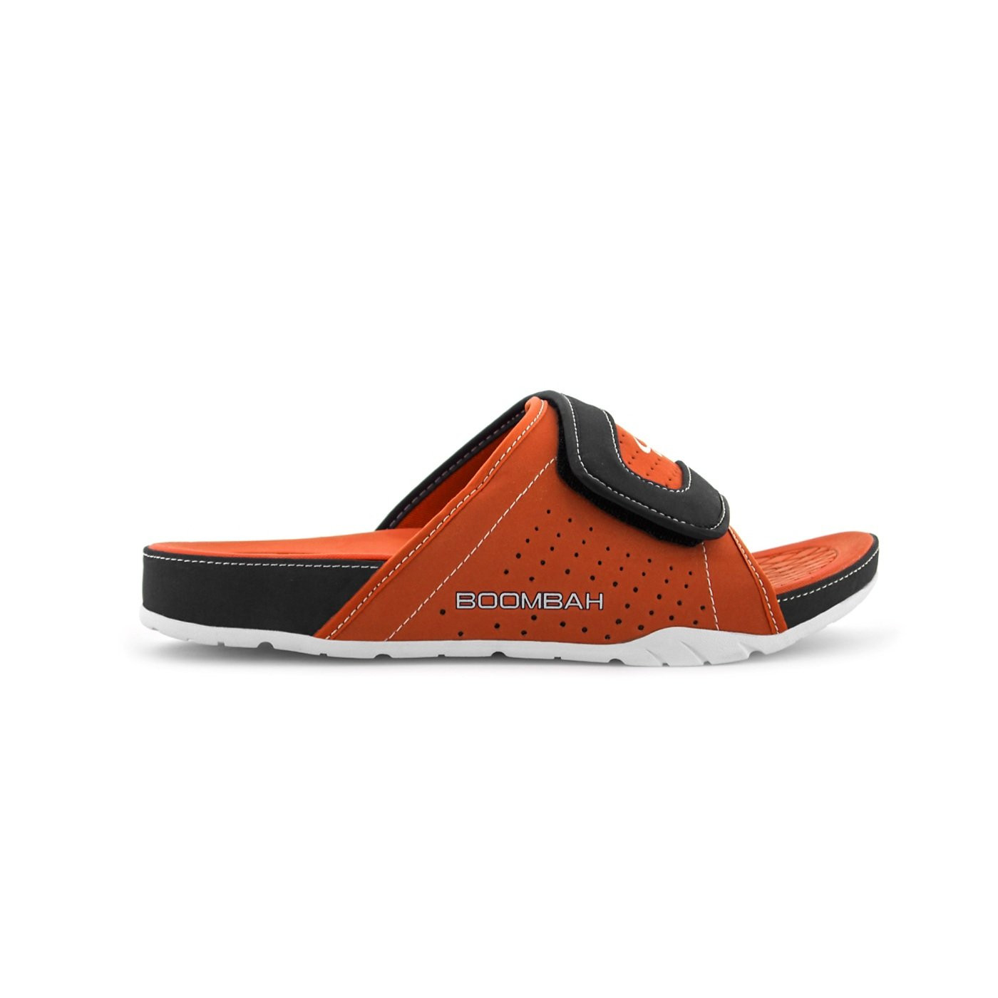Boombah Men's Tyrant Slide Sandals - 32 Color Options - Multiple Sizes B077NKNXPQ 15|Orange/Black