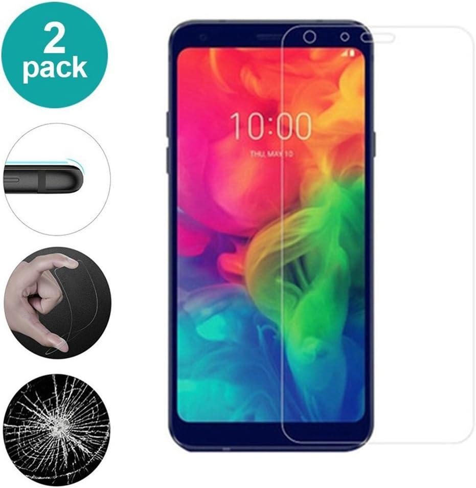 AIOIA Cristal Templado Premium para LG Q7 Plus【2 Paquete ...