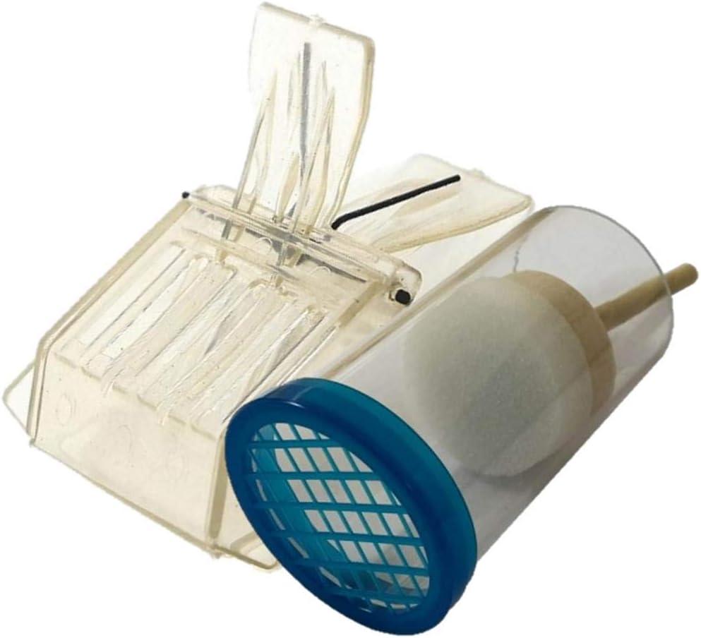 2 Pennarelli e 1 Bottiglia Trappola Gabbia Apicoltura Kit Marcatore Ape Reina