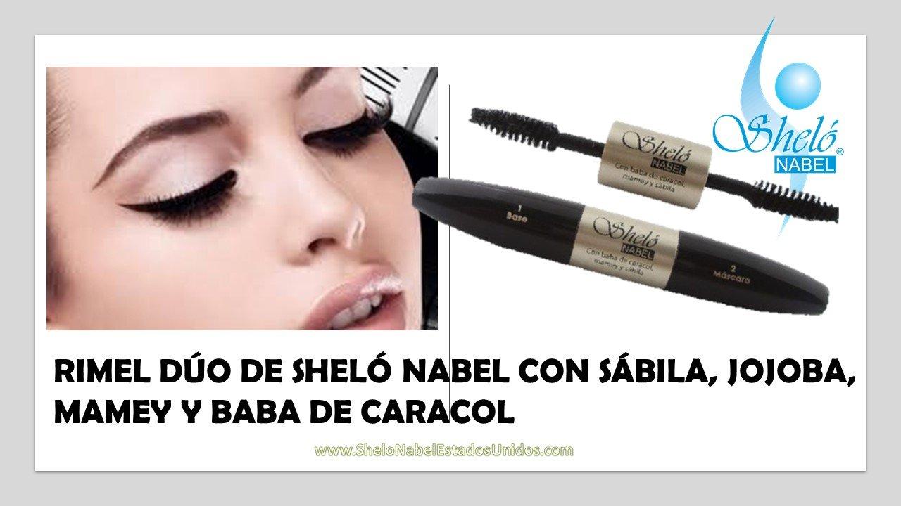 Amazon.com : RIMEL DÚO WITH ALOE VERA, MAMEY AND ALLANTOIN SHELÓ NABEL CON SÁBILA, JOJOBA, MAMEY Y BABA DE CARACOL : Beauty