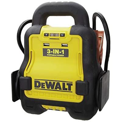DEWALT DXAE20VBB Automotive Battery Booster and 12V Jump Starter with USB Power Station: Powered by Standard 20V MAX and FLEXVOLT Tool Batteries: Automotive