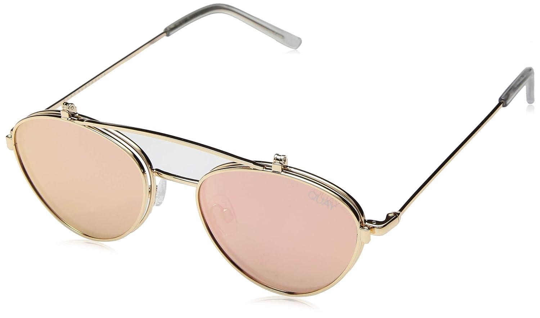 ff4410bc15c Amazon.com  QUAY AUSTRALIA Women s Elle Gold Rose One Size  Clothing